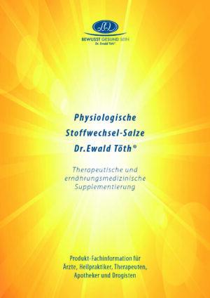 Physiologische Stoffwechsel-Salze Dr. Ewald Töth®